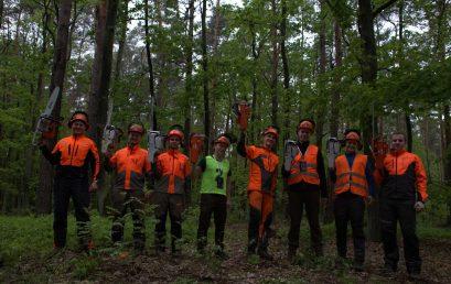 X Zawody Drwali (studentów leśnictwa)